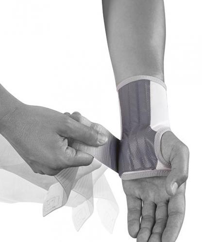 håndledsstøtte dorsal fleksjon